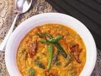 Indian Curry with Yellow Lentils recipe