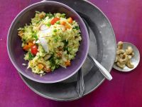 Indian Rice and Vegetable Stir-Fry recipe