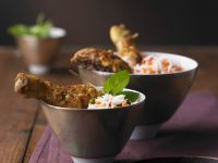 Indian Spiced Chicken with Rice Bowls recipe