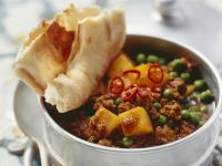 Indian-Spiced Ground Lamb and Potato Stew recipe