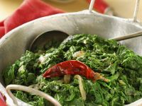 Indian Spinach recipe