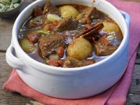 Indian-Style Lamb Stew with Potatoes recipe