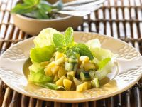Indian-Style Potato and Cucumber Salad recipe