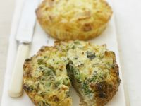 Individual Broccoli Quiches recipe