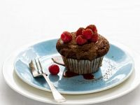 Individual Chocolate and Raspberry Cakes recipe