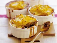 Individual Meat and Potato Bakes recipe