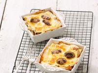 Individual Pasta and Mushroom Bakes recipe