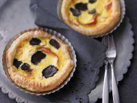 Individual Tartlets with Prosciutto and Truffles recipe
