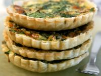 Individual Vegetable Quiches recipe