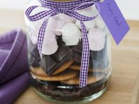 Ingredients for Choco-mallow Treats recipe