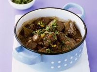 Irish Beef Stew with Spicy Herb Topping (Gremolata) recipe