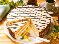 Irish Coffee Cream Cake recipe