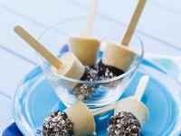 Irish Liqueur and Chocolate Iced Lollies recipe