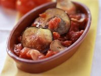 Baked Eggplants with Tomato Sauce recipe