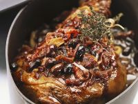 Italian Braised Lamb with Olives recipe