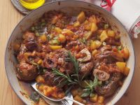 Italian Braised Rose Veal and Vegetables recipe