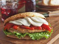 Italian Chicken and Pepper Sandwiches recipe