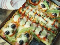 Italian Cornmeal Pizza recipe