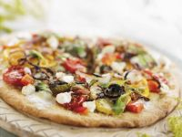 Italian Flatbread with Toppings recipe