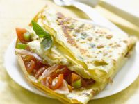 Italian Folded Crepes recipe