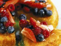 Italian Gateau with Mixed Fruit recipe