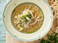 Italian Pasta Soup with Parsley and Parmesan recipe