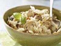 Italian Rice with Funghi recipe