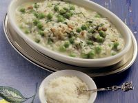 Italian Rice with Peas recipe