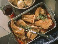Italian Style Braised Rabbit recipe