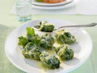 Italian Style Cheese and Spinach Dumplings (Malfatti) recipe