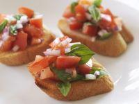 Italian Tomato Toast Bites recipe