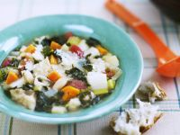 Italian Vegetable Soup with White Bread (Ribollita) recipe