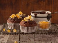Jaffa Cake Cupcakes recipe