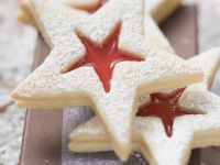 Jam Centre Star Cookies recipe
