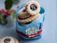 Jam Filled Shortbread Cookies recipe