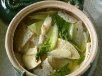 Japanese Broth with Leaves recipe