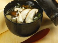 Japanese Broth with Tofu recipe