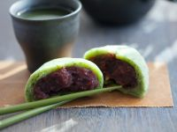 Japanese Green Tea Mochi recipe