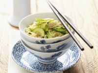Japanese Noodles with Cucumber recipe