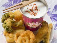 Japanese-style Crispy Veg recipe