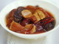 Japanese-style Pork and Mushroom Casserole recipe
