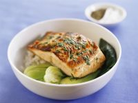 Japanese-style Salmon Bowl recipe