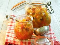 Jars of Fruit Relish recipe