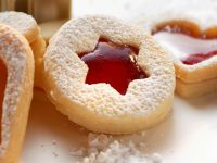 Jelly Star Cookies recipe