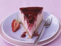 Jelly Top Berry Cheesecake recipe