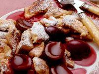 Kaiserschmarrn (German Torn Pancake) with Plum Compote recipe