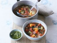 Kale and Mixed Veg Broth recipe