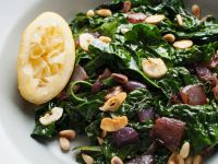 Kale, Onion, and Pine Nut Warm Salad recipe