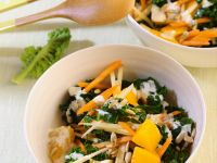Kale Salad with Carrots recipe