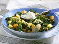 Kale Stew with Dumplings recipe